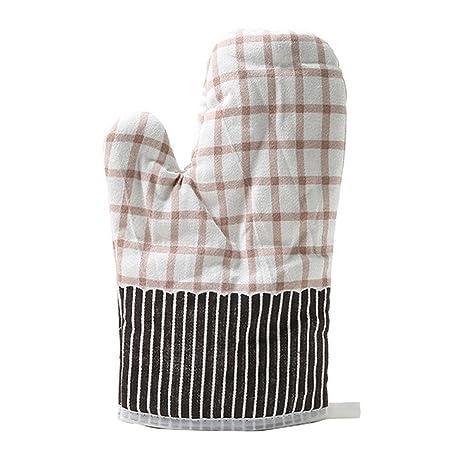 Guantes de horno, fundido Power agarradores BBQ algodón Extremadamente Resistente al calor Barbacoa Guantes,