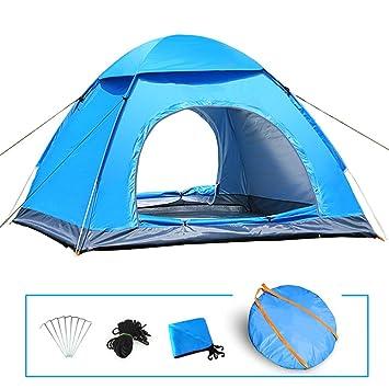 LIVEHITOP Instant Pop Up Tent Large 3-4 Person Man Portable Automatic Tents Set  sc 1 st  Amazon UK & LIVEHITOP Instant Pop Up Tent Large 3-4 Person Man Portable ...