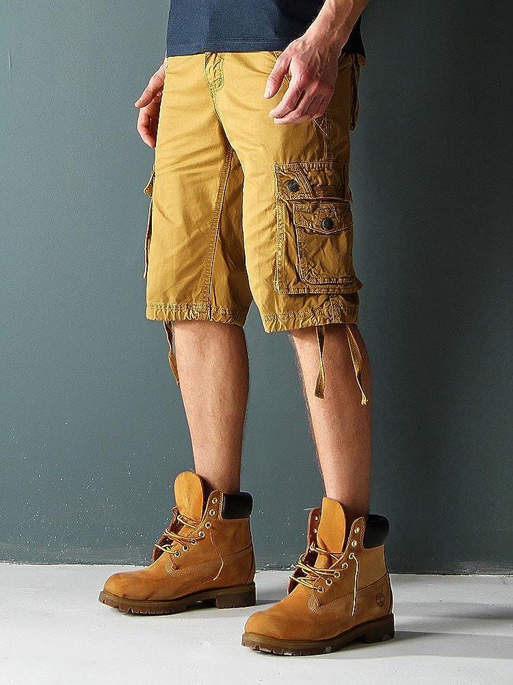 Uomo Basic Cargo OCHENTA Cotone Pantaloncini