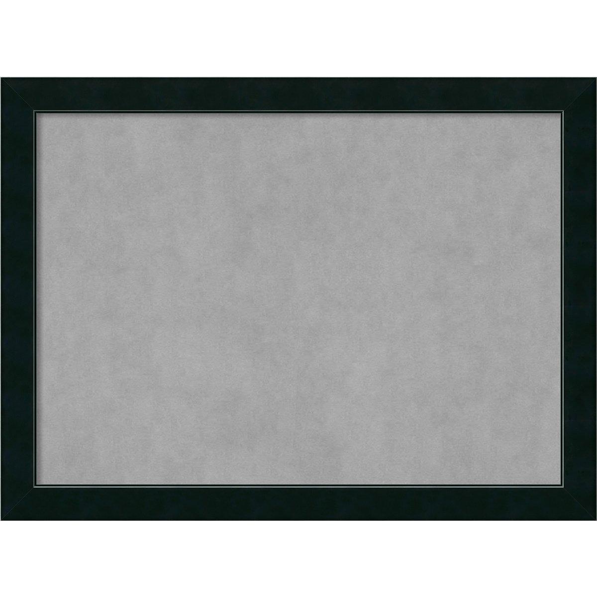Amanti Art DSW3979219 Framed Magnetic Board, Large, Corvino Black