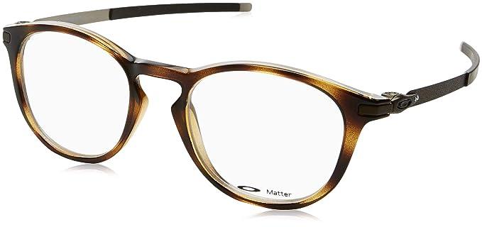 19dddc33fe Amazon.com  OAKLEY OX8112 - 811202 Gauge 7.1 Eyeglasses 54mm  Clothing