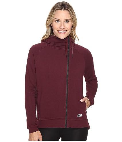 half off top brands recognized brands Nike W NSW Modern Cape - Veste Femme, Couleur Rouge Bordeaux ...