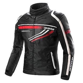 Moto Chaqueta Hombre Breathable Malla Impermeable ...
