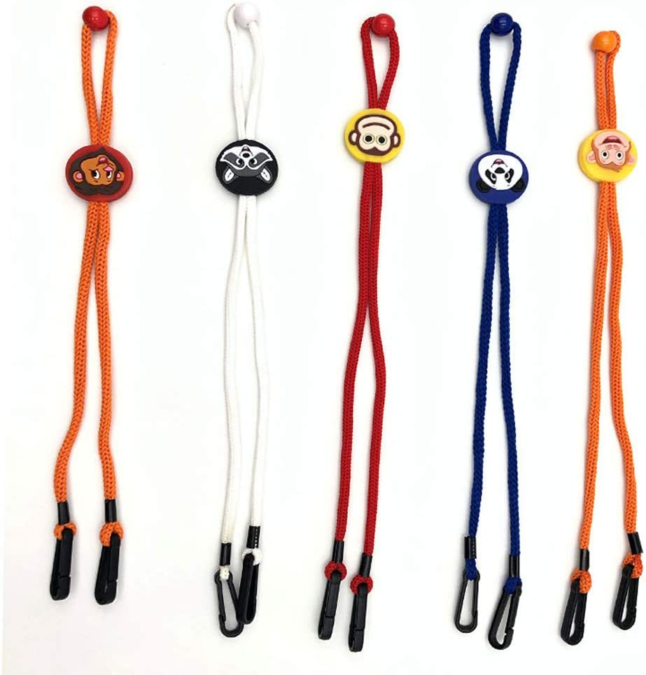 Liyeziaaa 5Pcs Adjustable Cover Lanyard Handy/&Convenient Safety Cover Rest/&Ear Holder Rope