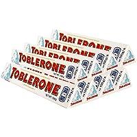 进口休闲零食Toblerone瑞士三角牛奶/黑巧克力婚庆喜糖【19年8月到期】(白巧100g*8)