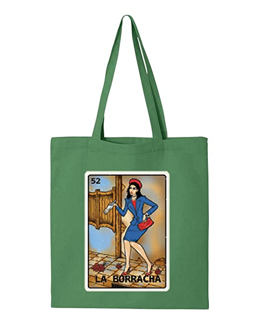 6ca609a17f Ugo La Borracha Drunk Woman Loteria Game Card Mexican Bingo Birthday Family  Party Gift Tote Handbags Bags Work School Travel: Amazon.ca: Clothing & ...