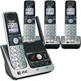 ATT Dect 6.0 Four Handset Bluetooth Answering System with Caller Id/call Waiting TL92420