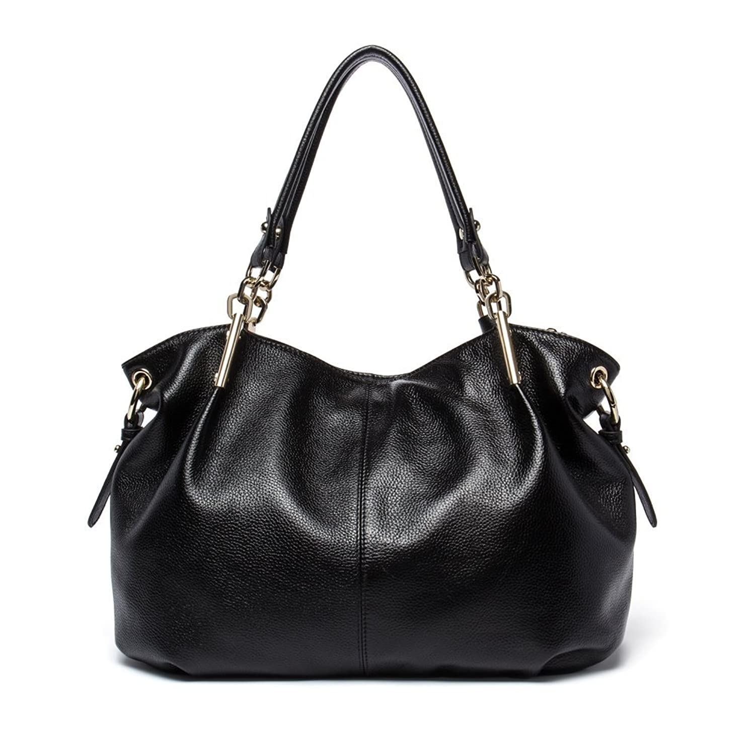 3476caeffe Amazon.com  BOSTANTEN Leather Handbags Tote Purses Shoulder Crossbody Bags  for Women Black  Shoes