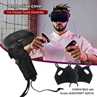 greatdaily Controller Cover pour Oculus Touch Controller pour Oculus Quest Cover Rift S VR,Sweat, Anti-Slip,Conçu pour Le Contrôleur Tactile Oculus,1 Paire