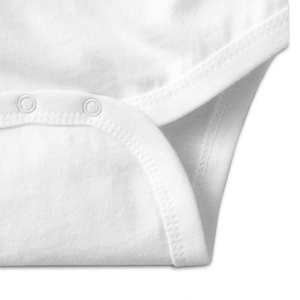 Nutmix Baby Kawali Pineappl Soft T-Shirts White