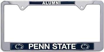 Elektroplate Penn State Nittany Lions Black License Plate Frame