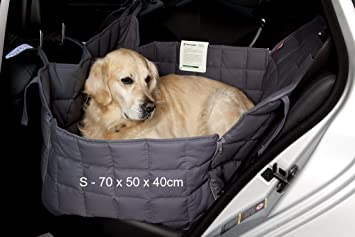 Doctor Bark 2 Car Seat Covers Grey