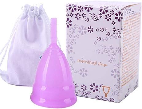 Copa Menstrual Reutilizable Silicio médico Menstrual Cup ...