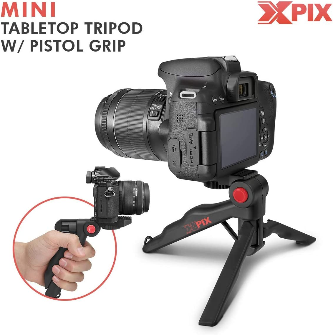Riptide + FLT-STP Floating Foam Strap Sandisk/16GB Micro SD Card Xpix Table Top//Hand Grip Tripod /& Xpix Deluxe Cleaning Accessories Canon Ivy REC Outdoor Digital Camera