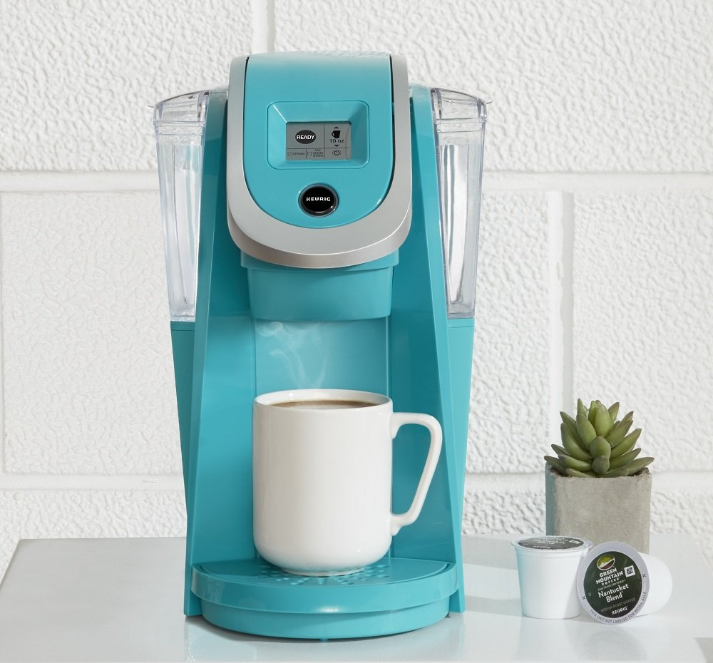 Keurig K250 Single Serve, Programmable K-Cup Pod Coffee Maker with strength control, Turquoise by Keurig (Image #5)
