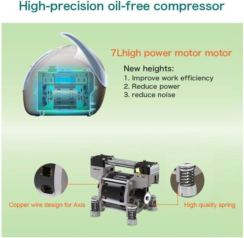 HUKOER Generador de concentrador de oxígeno portátil, 90% de ...