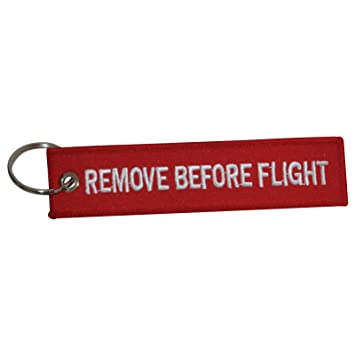 Remove Before Flight Keychain  0749959f1590