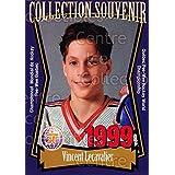 Vincent Lecavalier Hockey Card 1999 Quebec Pee-Wee Tournament Collection #22 Vincent Lecavalier