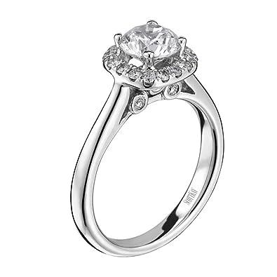 "46f107840 Scott Kay  ""Luminaire"" Semi Mount Diamond Engagement Ring in  Palladium (1"