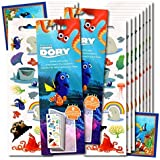 Finding Dory Stickers Party Favors ~ Set of 2 Sticker Packs ~ 16 Sheets Over 380 Finding Dory Stickers plus Bonus Reward Stickers ~ Dory, Nemo, Marlin, Squirt the Turtle, Bailey, and more!