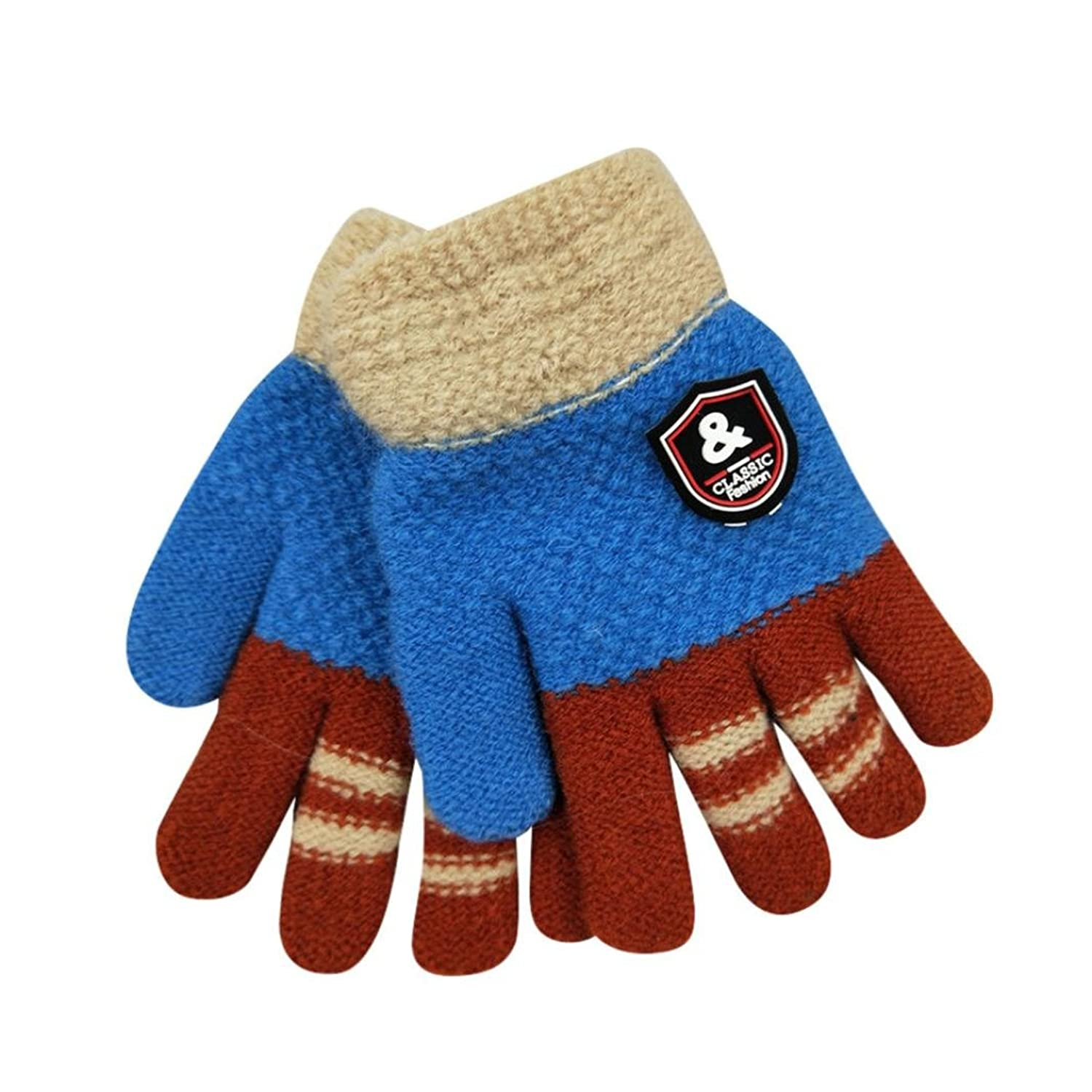hot sell Infant Baby Cute Thicken Gloves, Palarn Toddler Magic Knitting wool Insulated Winter Warm Mittens for sale