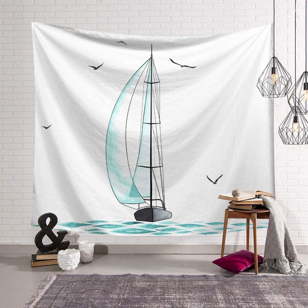 Chica corazón Nordic Planta Verde Dormitorio decoración paño ...