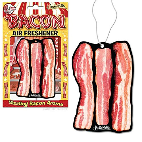 Accoutrements Bacon Air Freshener (2 PACK) (2) - 2 Pack Bacon