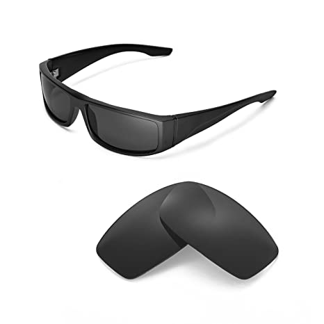 a18faffadb5 Walleva Replacement Lenses for Spy Optic Cooper Sunglasses - Multiple  Options Available (Black - Polarized