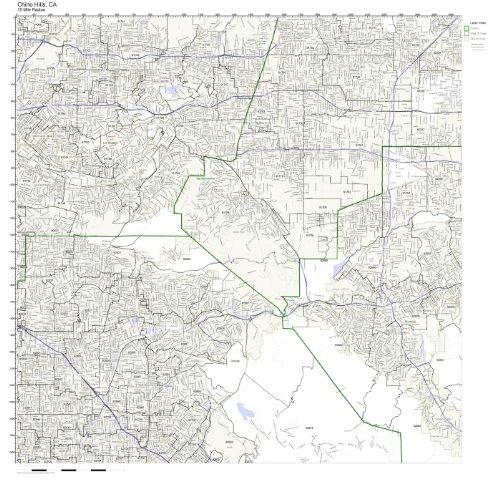 Chino Hills, CA ZIP Code Map - Ca Hills City Chino Of