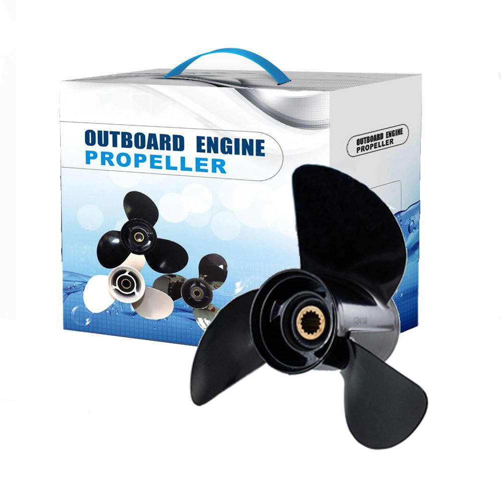 Max Motosports Propeller fit Johnson Evinrude 45 to140 HP 2411-133-17 13-1/4x17 Prop 13.25x17 Pitch