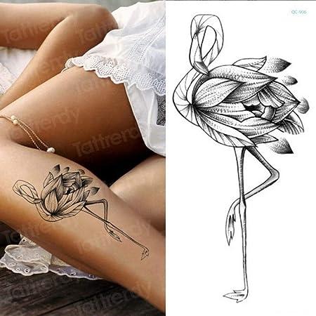 Handaxian 3pcs-Temporal Etiqueta engomada del Tatuaje Flor Peony ...