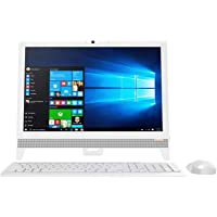 "Lenovo Ideacentre AIO 310-20IAP Desktop All-in-One de 19.5"" (Intel Celeron J3355, 4GB RAM, 500GB HDD, Windows 10 Home SL), Blanco"