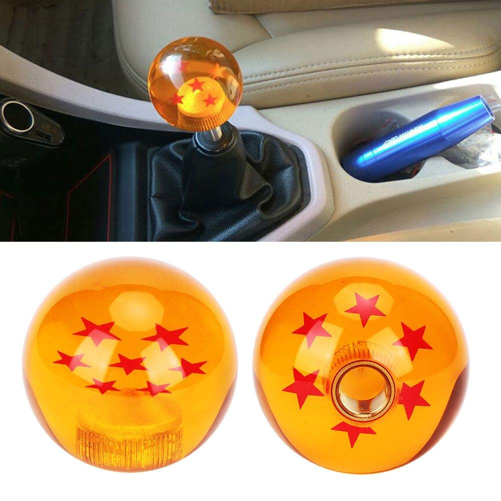 Gorgeri Manopola leva cambio leva cambio auto universale Dragon Ball con adattatore adattatore 7 stelle