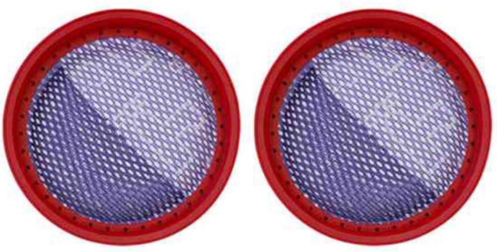 Camisin 2 unids para Dibea D18 D008pro Partes de aspirador reemplazo lavable filtro parte piezas de repuesto