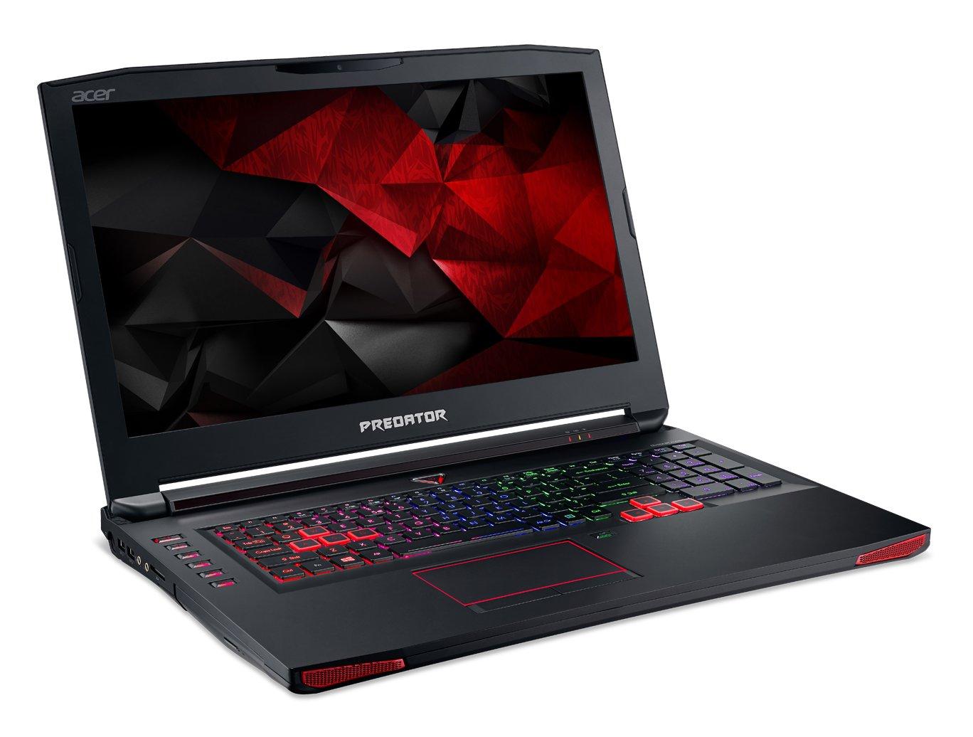 "Amazon.com: Acer Predator 17 Gaming Laptop, 17.3"" Full HD, Core i7, NVIDIA GTX980M, 32GB DDR4, 512GB SSD, 1TB HDD, Win 10, G9-792-70DR: Computers & ..."