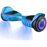 GeekMe Gyropode 6.5 Pouces Dual Moteurs Board Hover Scooter Auto-équilibré UL2272 avec Bluetooth Lumières Cool No.Q