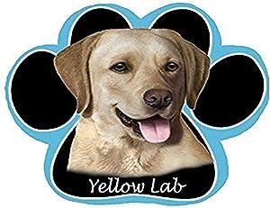 Yellow Labrador Dog Paw Non-Slip Mousepad