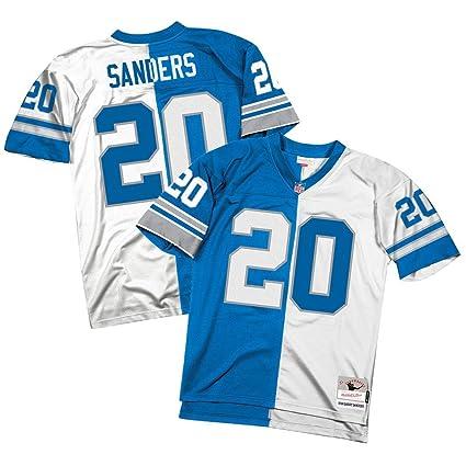 the best attitude d37c6 7599a Amazon.com : Mitchell & Ness Barry Sanders Detroit Lions ...