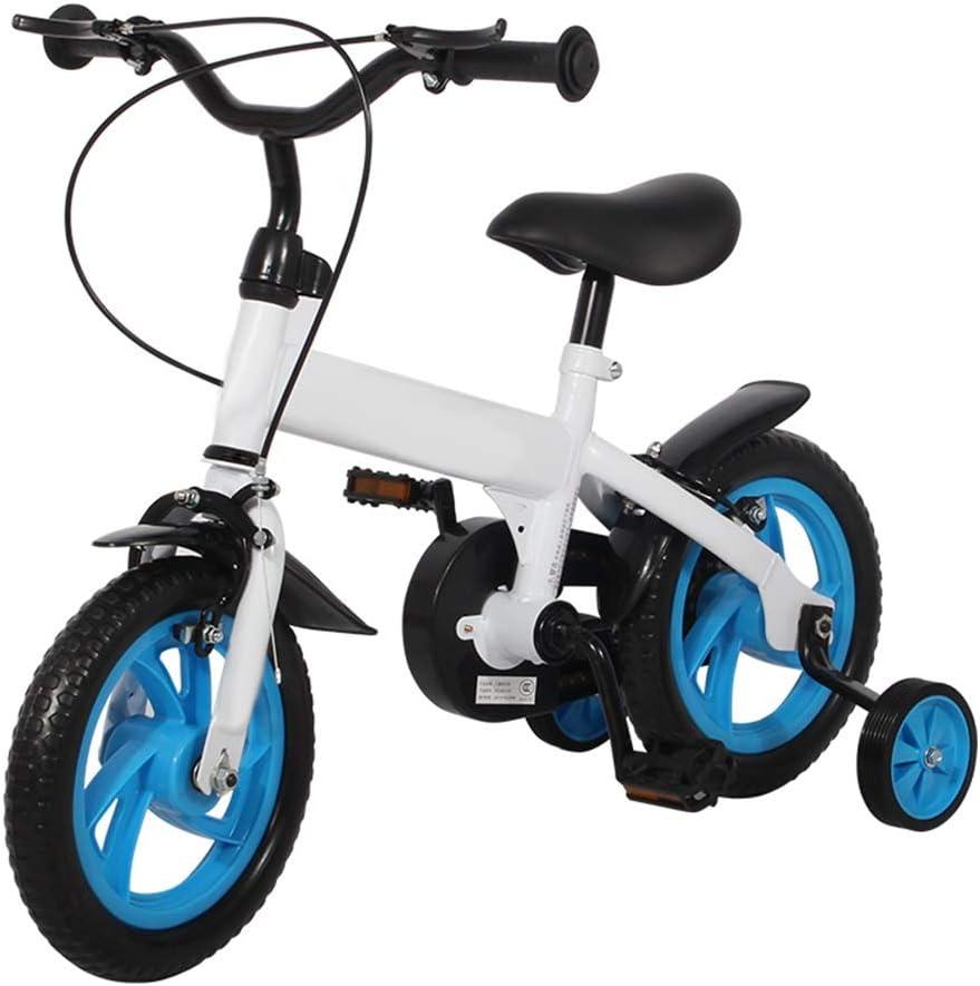 Axdwfd Infantiles Bicicletas Bicicletas for niños con Ruedas de ...