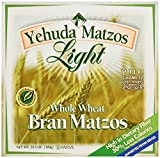 Yehuda Matzo, Light, Ww Bran, 10.50 Ounce (Pack of 24)