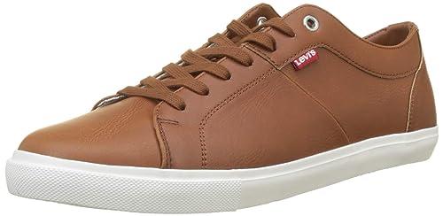 Levis Footwear and Accessories Woods, Zapatillas para Hombre, Marrón (Light Brown 26)