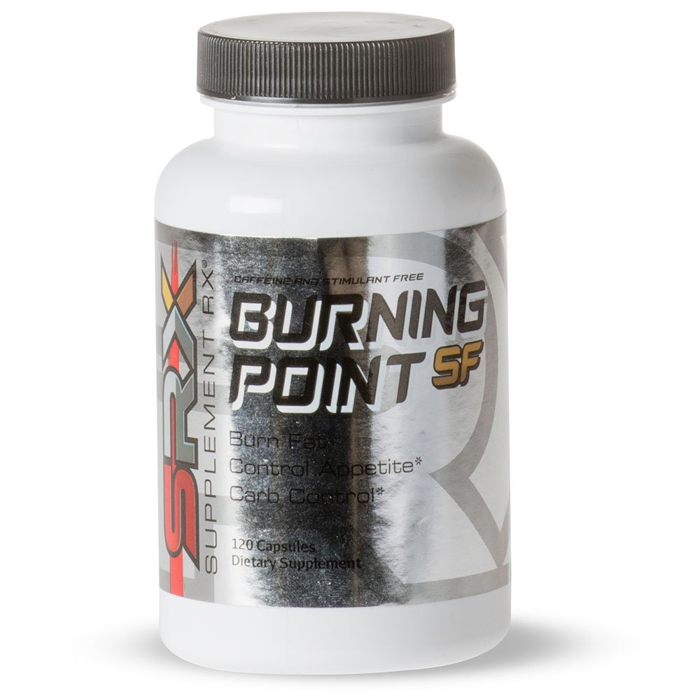 Supplement Rx - Burning Point SF Fat Burner, Caffeine and Stimulant Free, Fat Burner