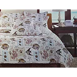61nSDznXPXL._SS247_ Best Starfish Bedding and Quilt Sets