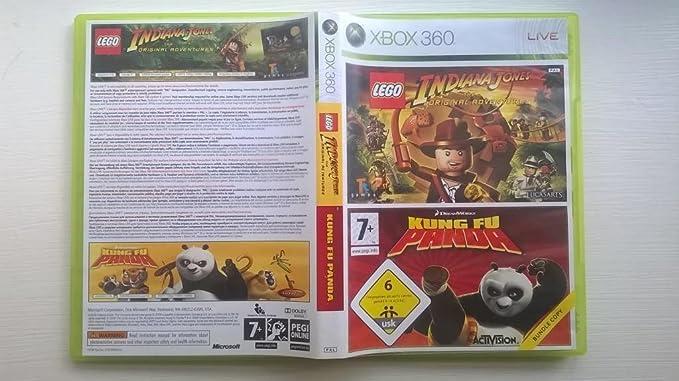 Lego Indiana Jones + Kung Fu Panda [Importación francesa]: Amazon.es: Videojuegos