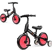 Fascol 3 en 1 Triciclos Bebés para Niños 2-6 Años, Triciclo para Bebés con Pedales Desmonetables y Ruedas Auxiliares…
