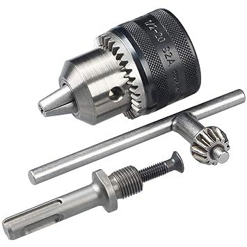 Relativ Bosch SDS-plus-Adapter (Mit Bohrfutter, für Bohrhämmer): Amazon.de DF36