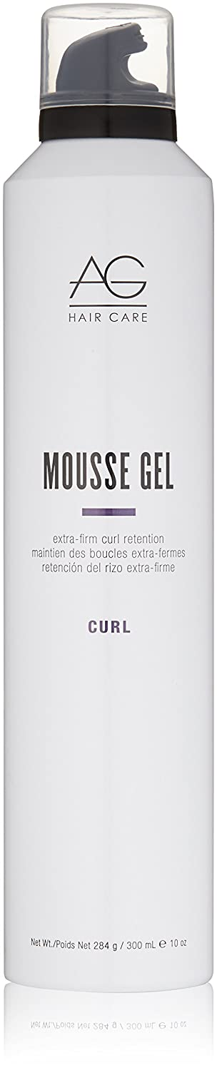 AG Hair Curl Mousse Gel Extra-Firm Curl Retention, 10 oz