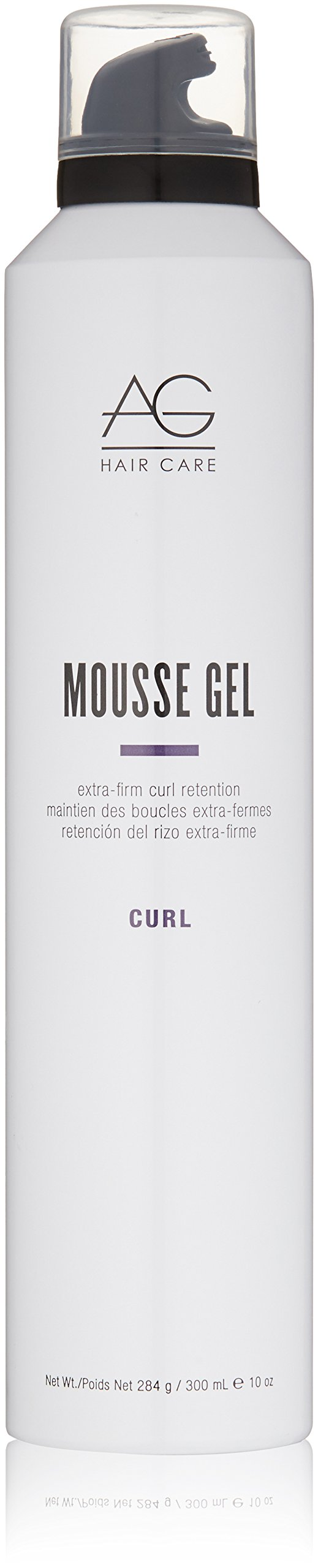 AG Hair Curl Mousse Gel Extra-Firm Curl Retention 10 Fl Oz by AGHair