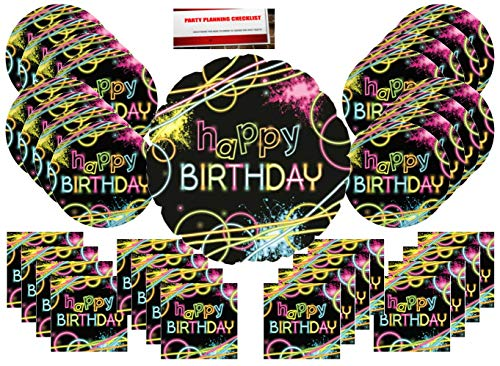 Bundle Pack for 16 (17 Inch Balloon Plus Party Planning Checklist by Mikes Super Store) ()