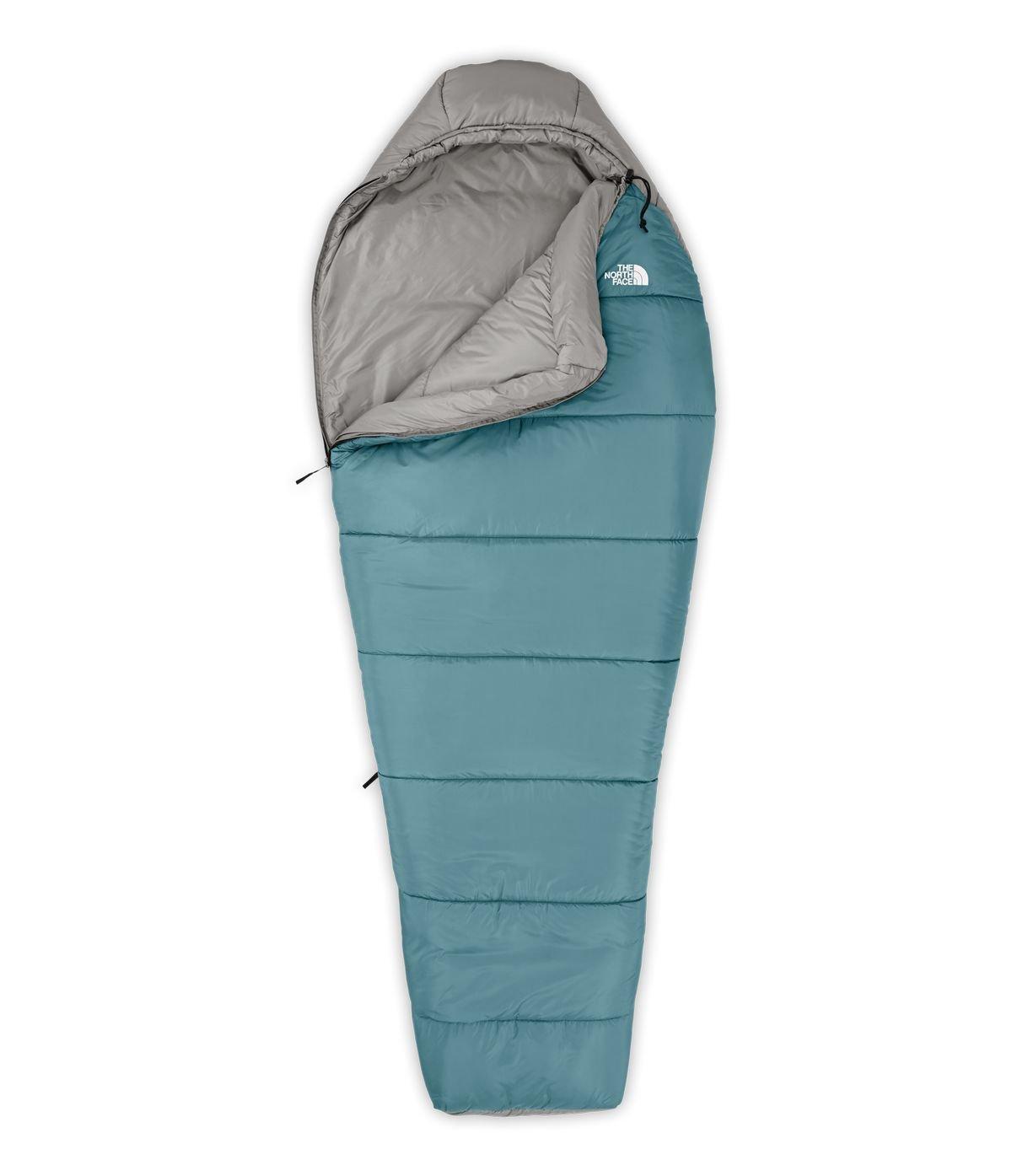 The North Face Wasatch 20 F/-7 C Saco de Dormir - CE75-LR, Aegean Blue/Zinc Grey: Amazon.es: Deportes y aire libre
